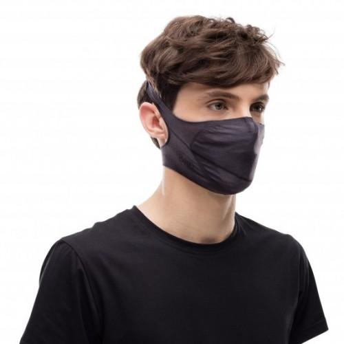 BUFF®Face Mask - Vivid Grey - Grey