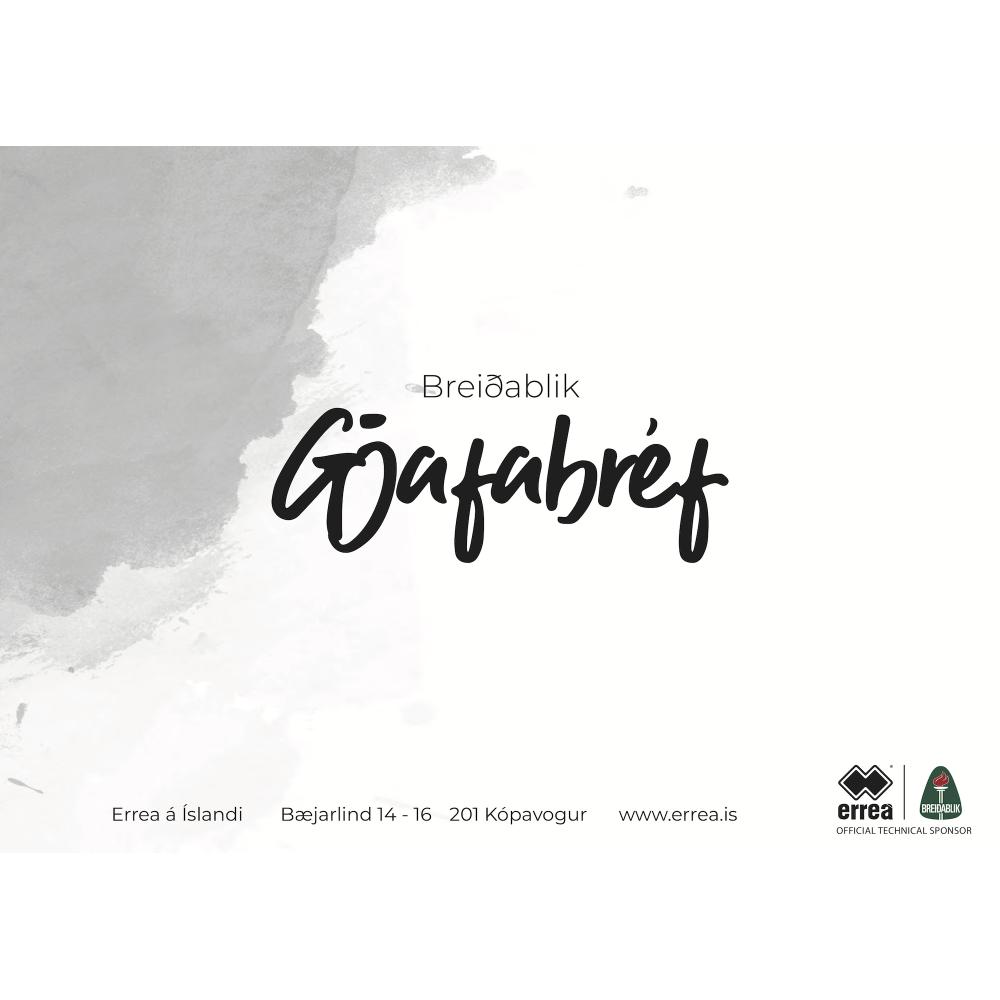 Gjafabréf - Breiðablik
