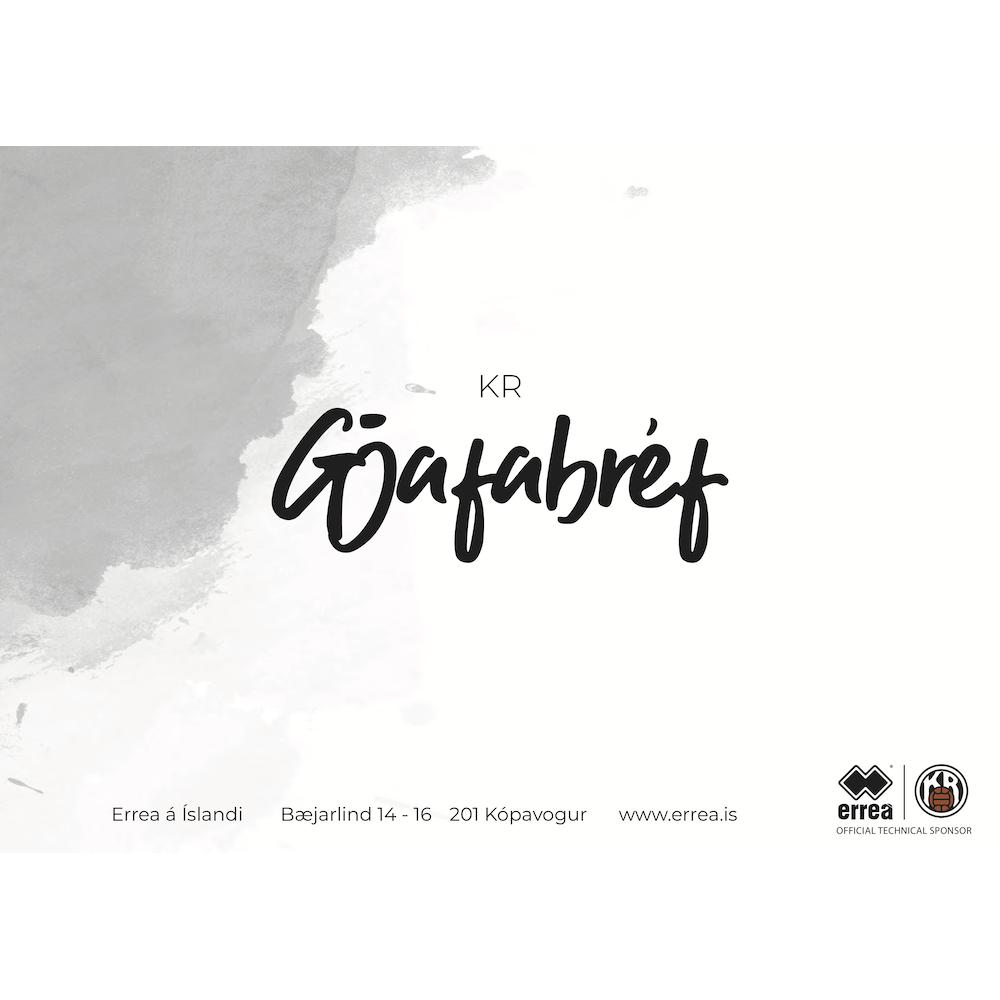 Gjafabréf - KR