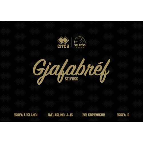 Gjafabréf - Selfoss