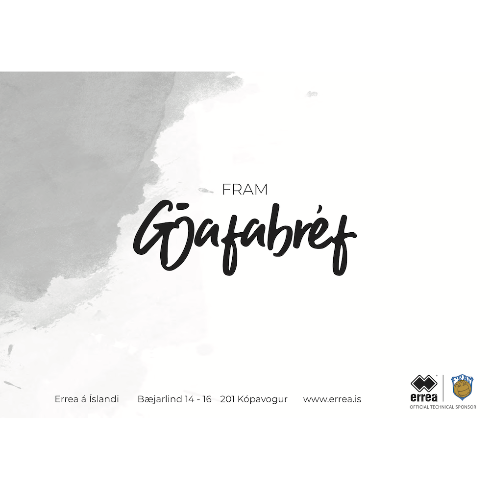 Gjafabréf - Fram