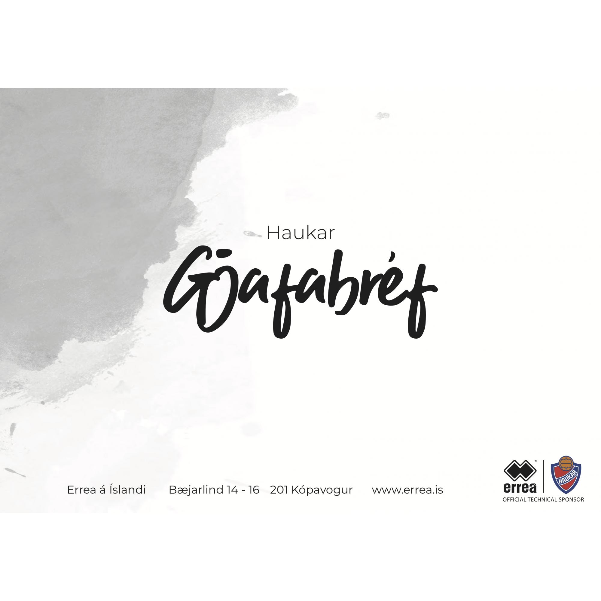 Gjafabréf - Haukar
