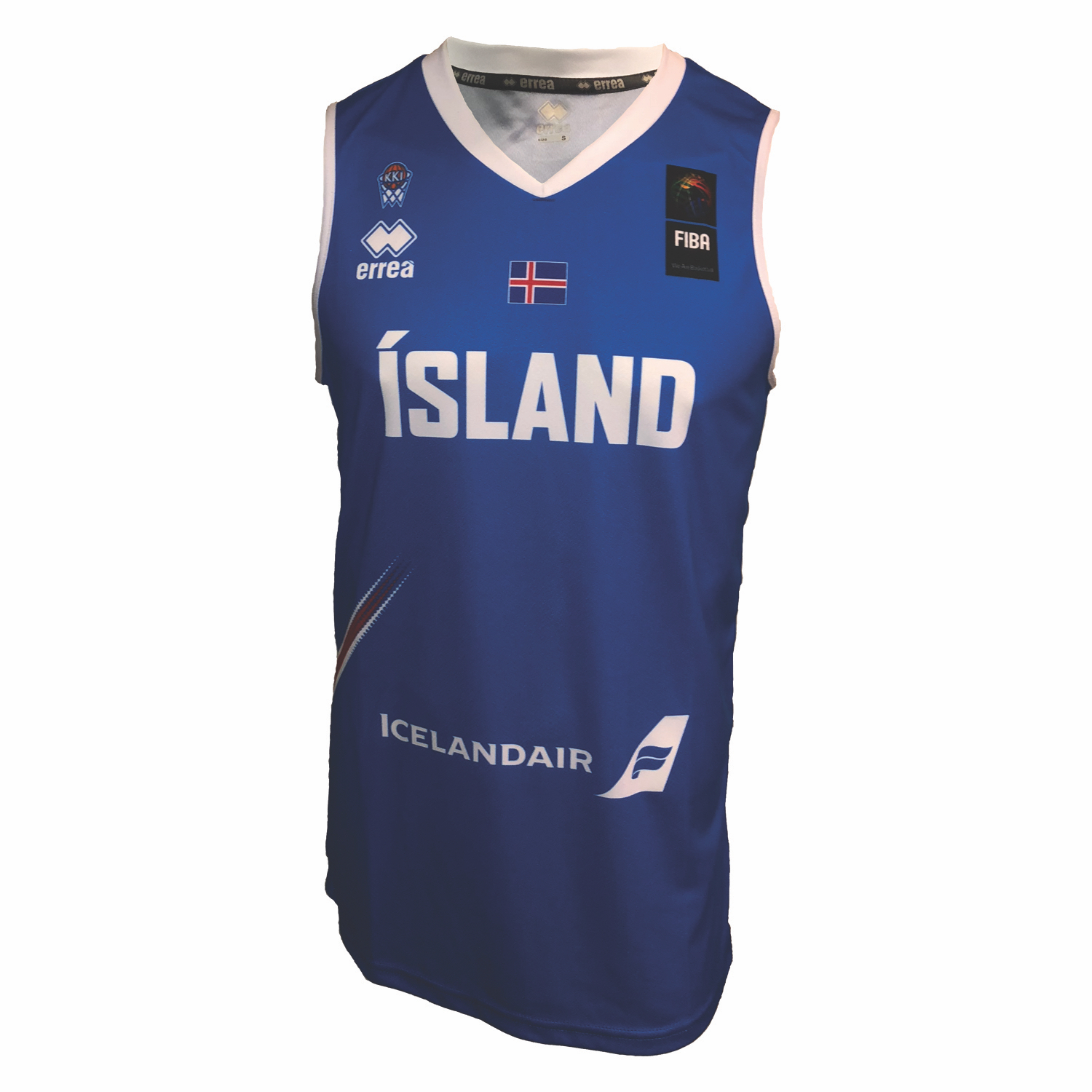 KKÍ - Iceland National Basketball Team Home Shirt