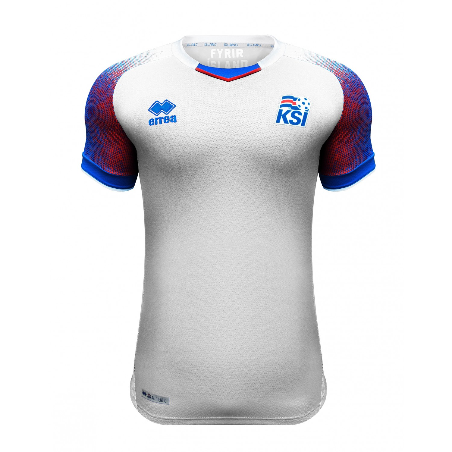KSÍ - Iceland National Football Team Away Shirt 2018 - 2020 - Junior